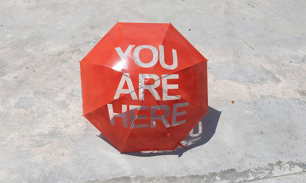 You are Here - Umbrella