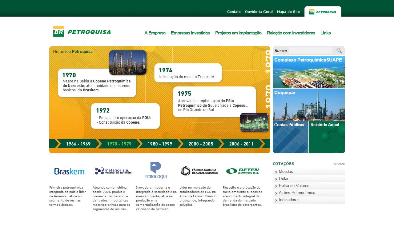 Website petroquisa plano b design for Plano b mobilia